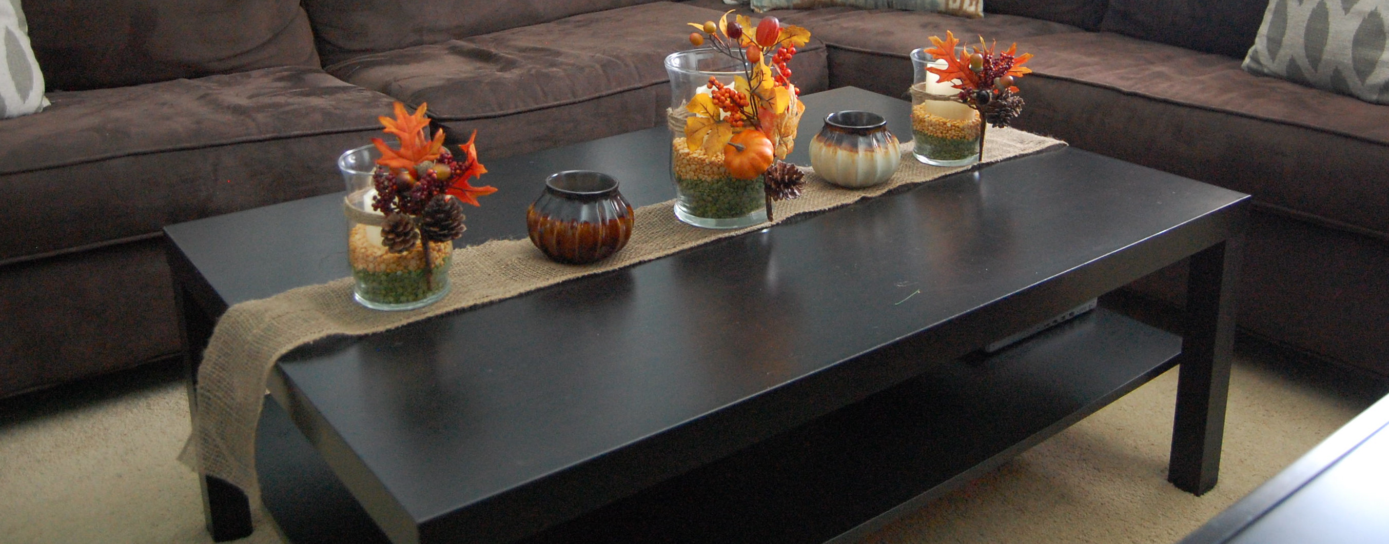 Fall table decor for Fall table