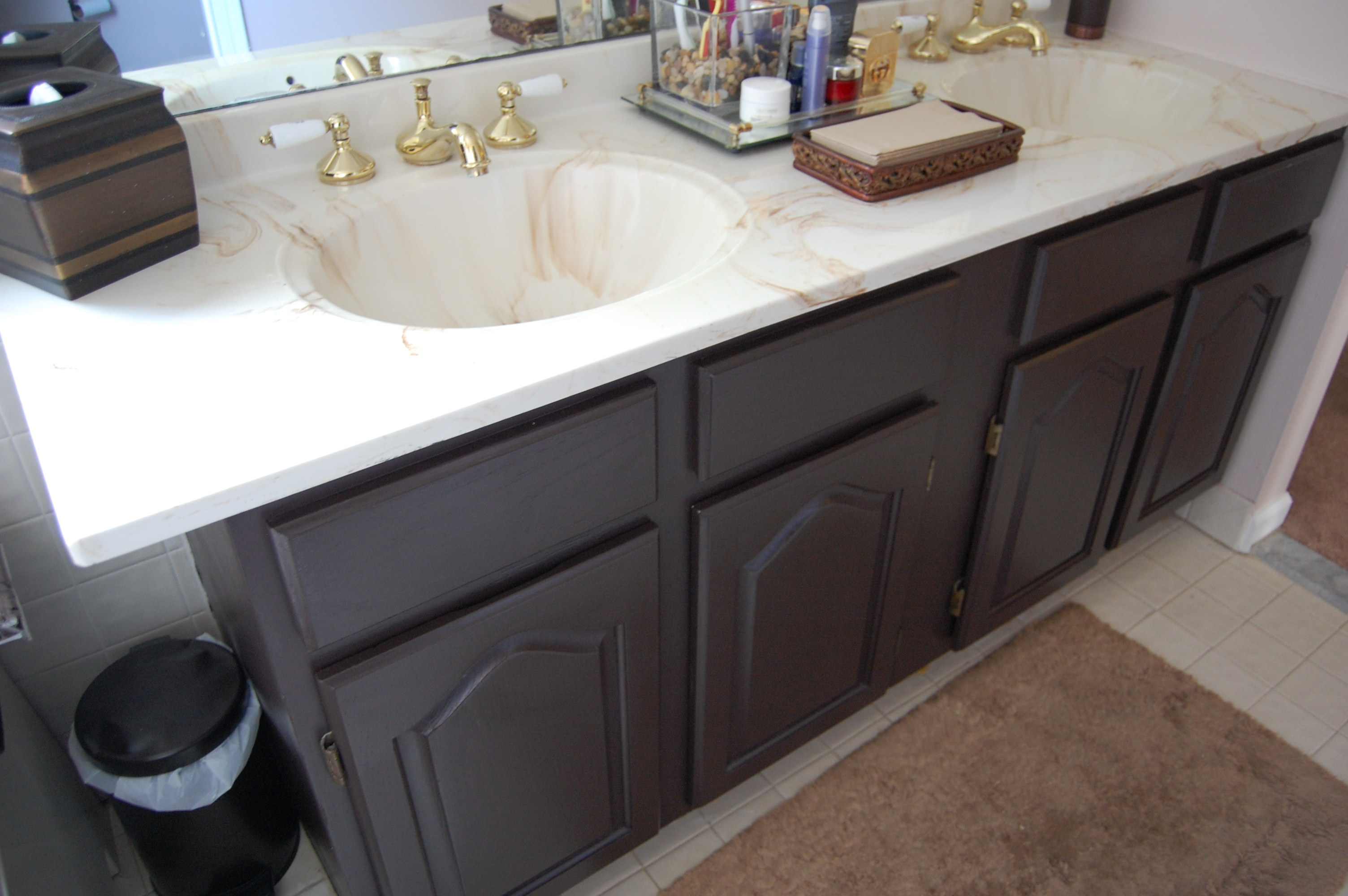 Painting A Bathroom Vanity