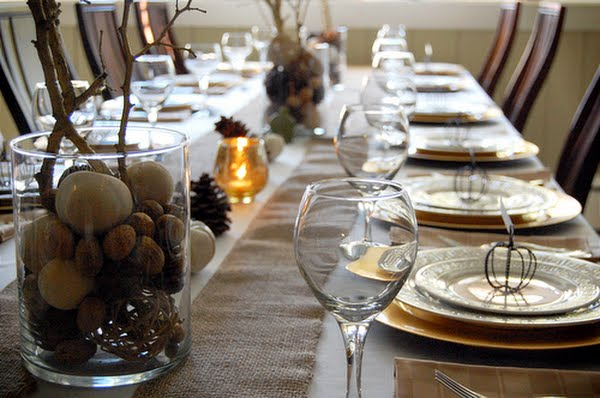 Table Setting {Thanksgiving Edition}