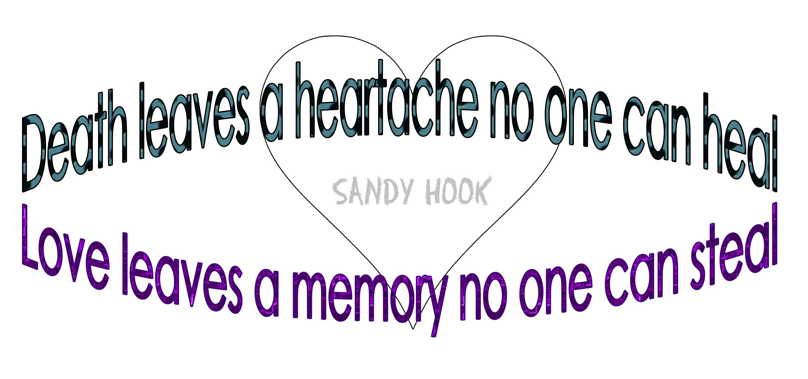 For Sandy Hook