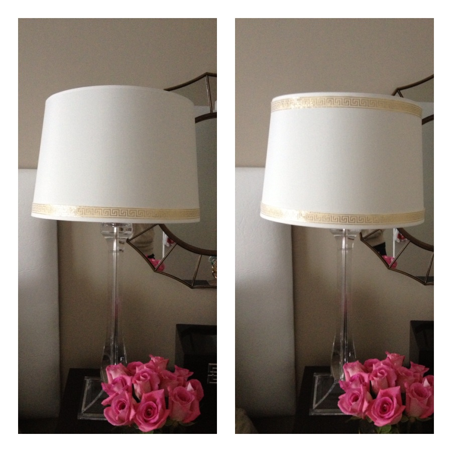 Diy lampshade ribbon trim diy lampshade ribbon trim aloadofball Choice Image
