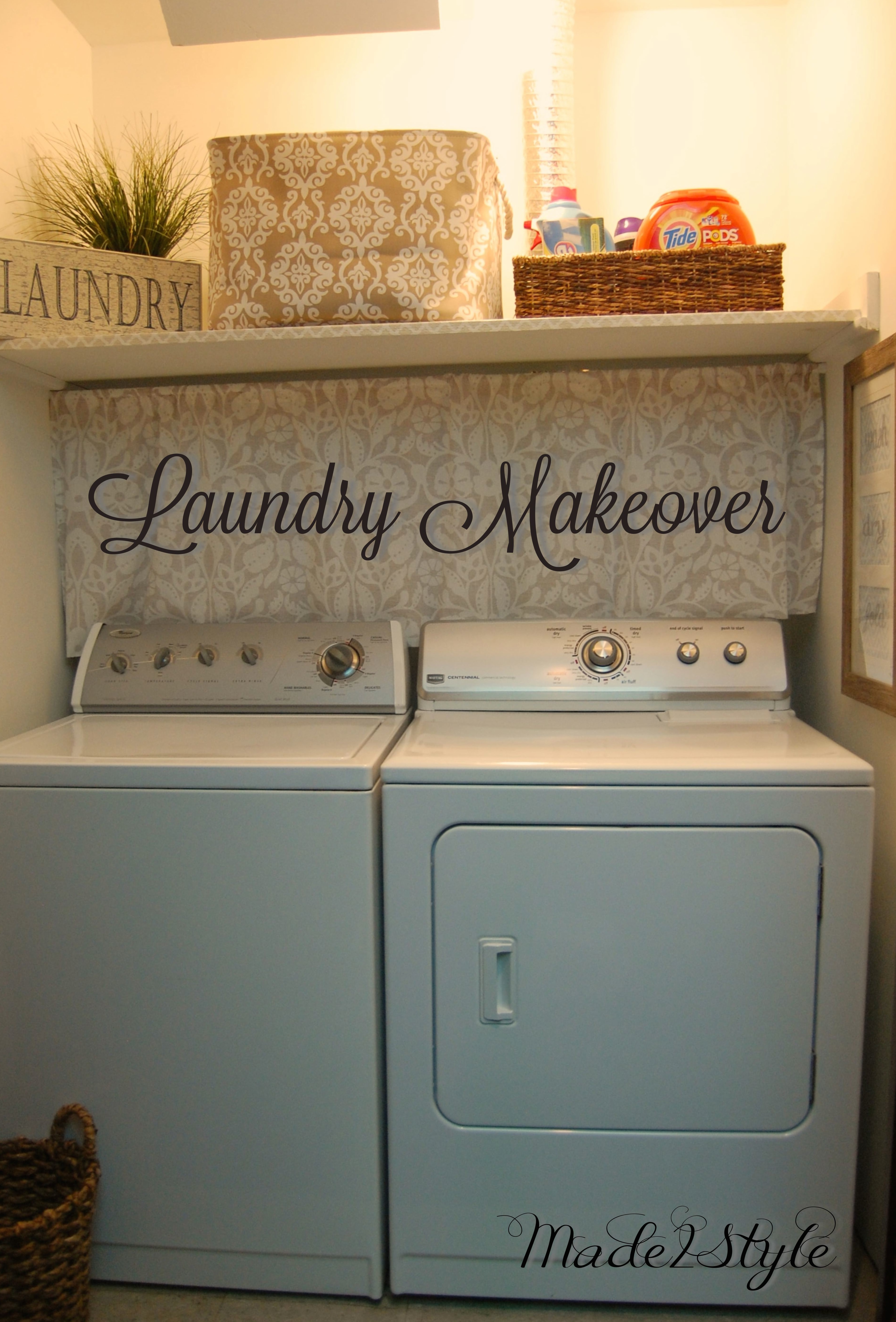 Laundry Makeover