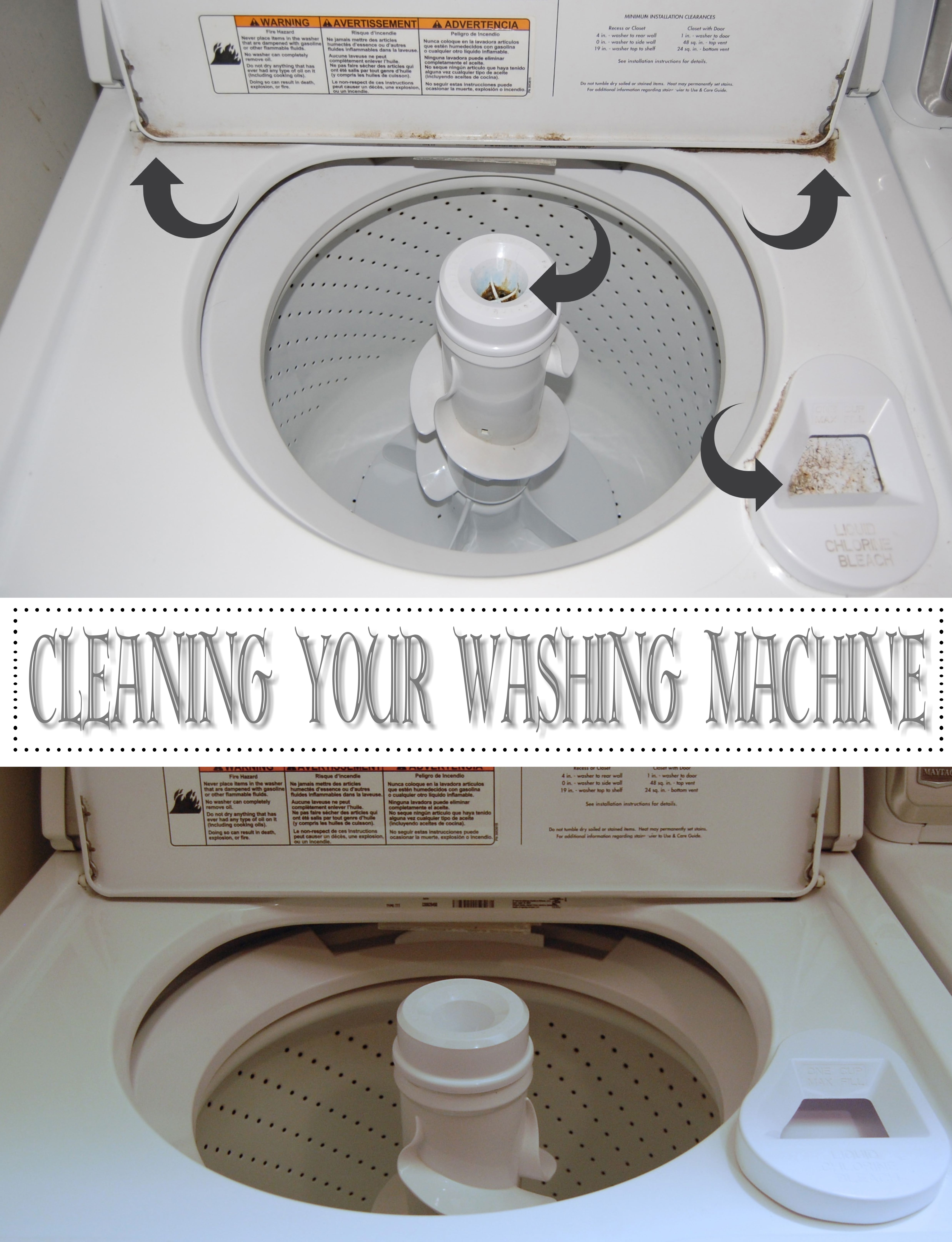 Cleaning Your Washing Machine I Made2Style