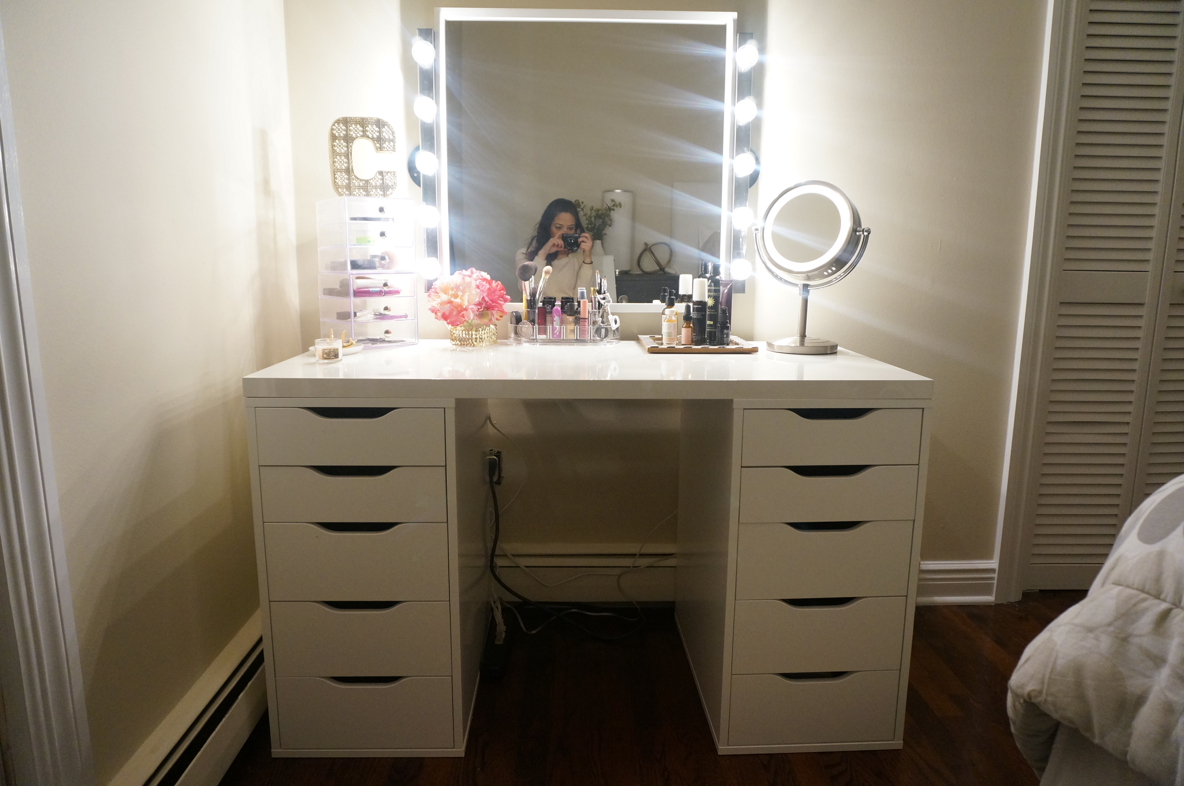 Why you should incorporate ikea makeup vanity designs to your house ikea alex drawer makeup vanity aloadofball Choice Image