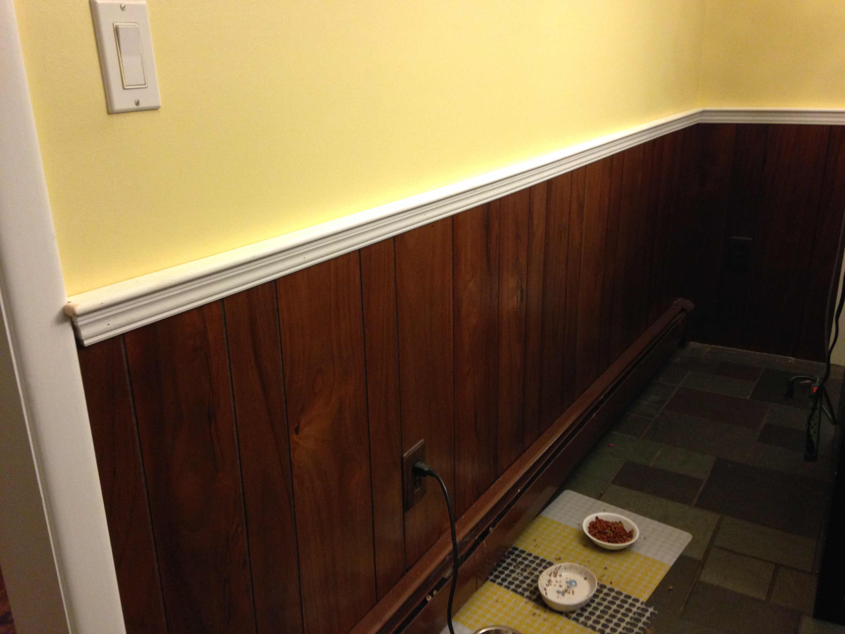 Ordinary Wood Paneling Chair Rail Part - 1: Kitchen Refresh @ Made2Style