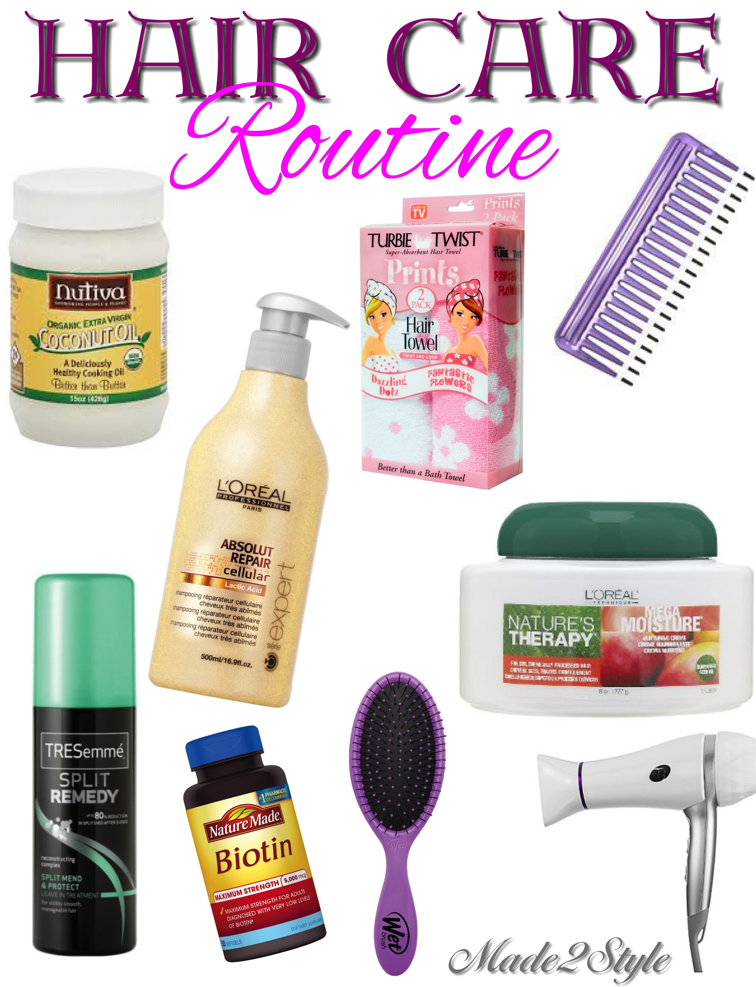 Hair Care Routine @Made2Style