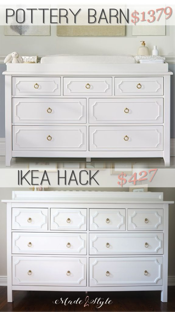 Ikea Hack Pottery Barn Furniture Knockoff